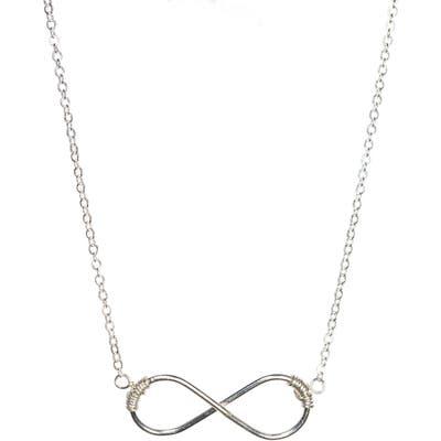 Nashelle Infinity Pendant Necklace