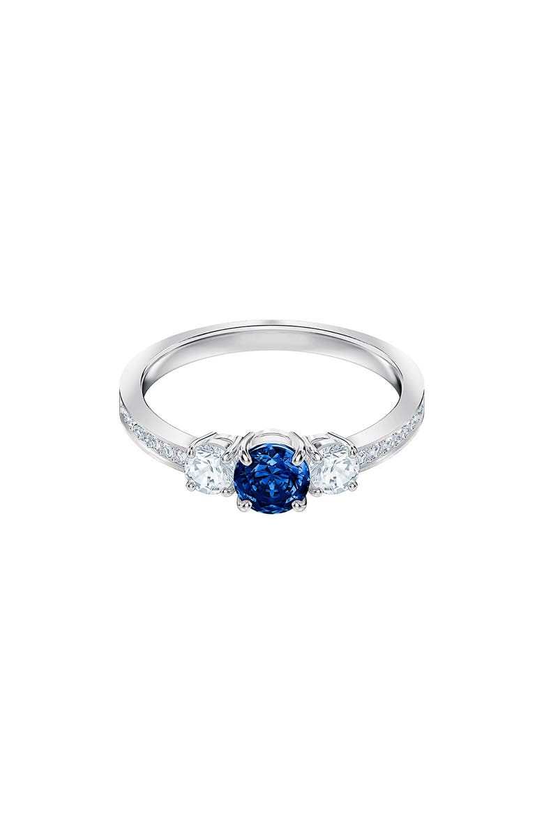 SWAROVSKI Attract Trilogy Ring, Main, color, 400
