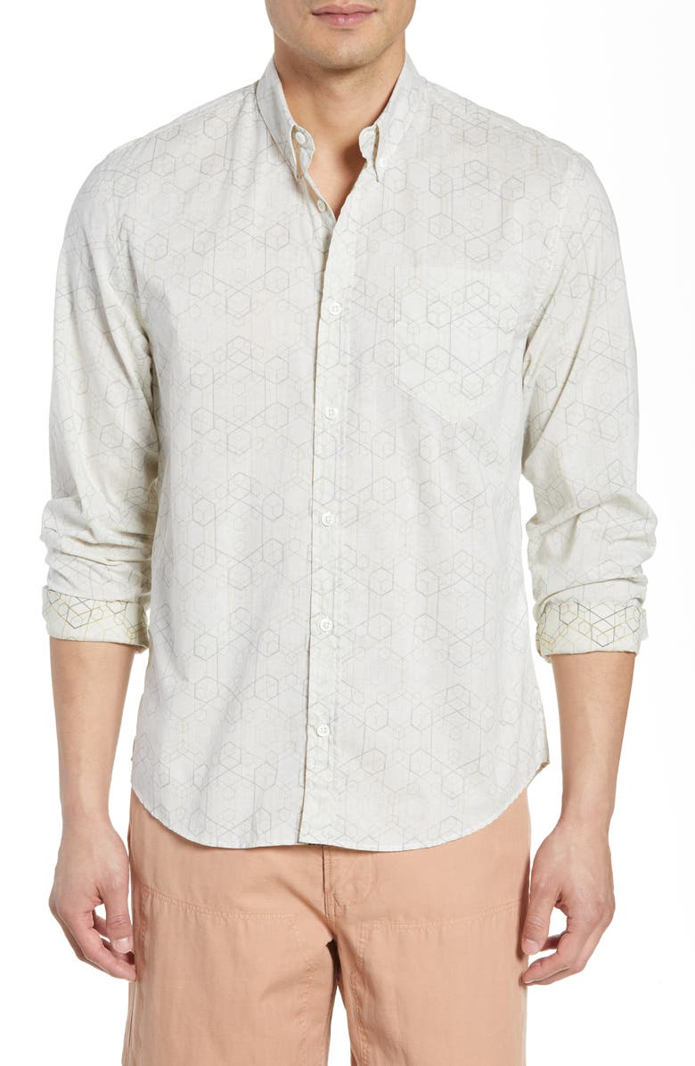 Billy Reid Tuscumbia Hive Slim Fit Shirt