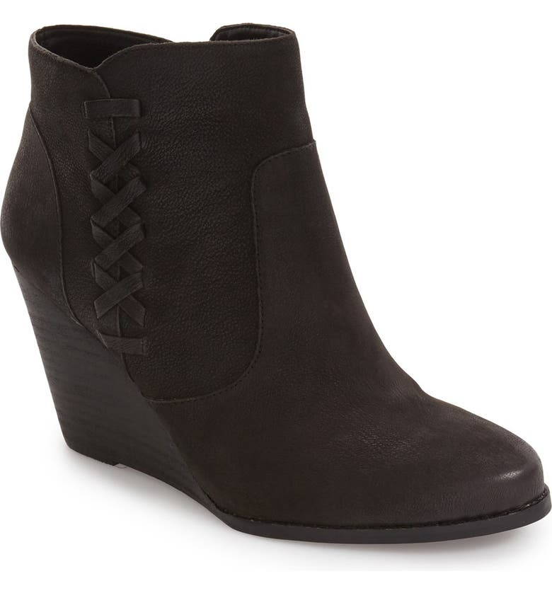 JESSICA SIMPSON Charee Wedge Bootie, Main, color, 001