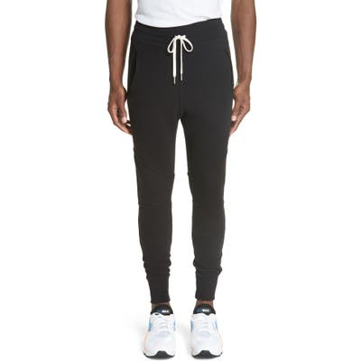 John Elliott Escobar Sweatpants, Black