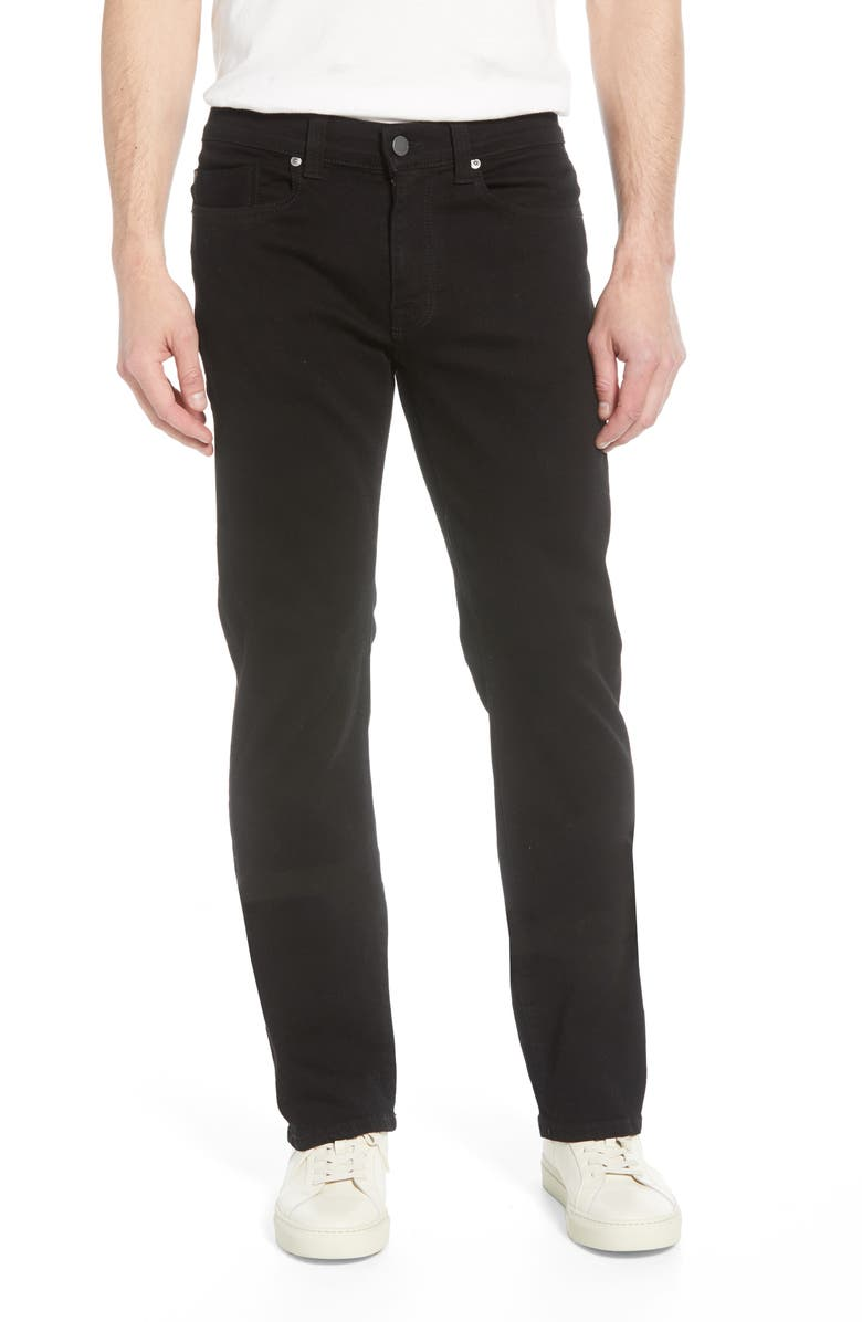FIDELITY DENIM 50-11 Relaxed Fit Jeans, Main, color, GOTHAM BLACK