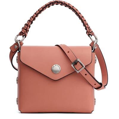 Rag & Bone Micro Atlas Leather Crossbody Bag - Pink
