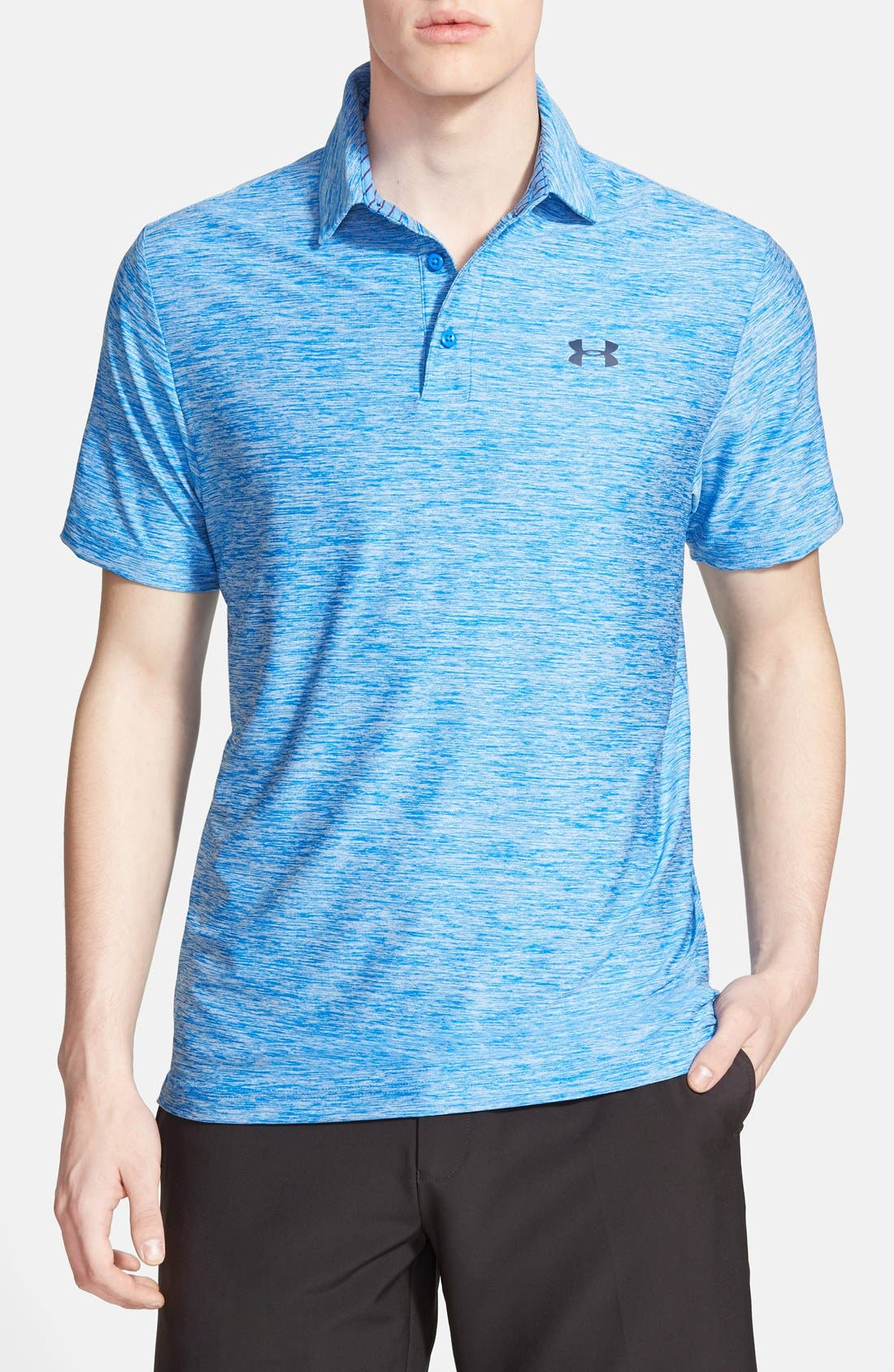 ,                             'Playoff' Loose Fit Short Sleeve Polo,                             Main thumbnail 205, color,                             406