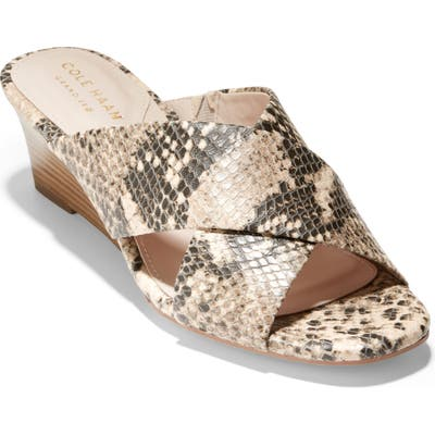 Cole Haan Adley Wedge Sandal B - Beige