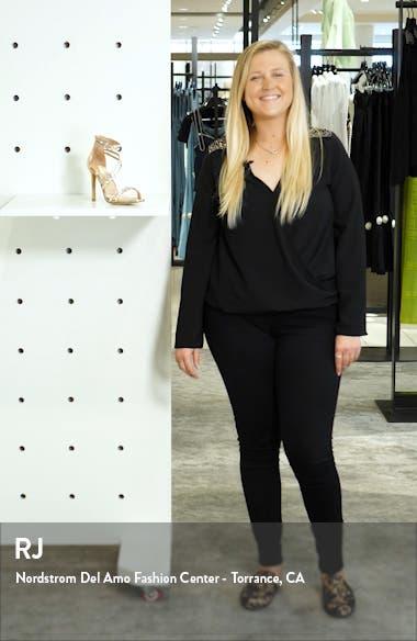 Whitney Crystal Embellished Sandal, sales video thumbnail