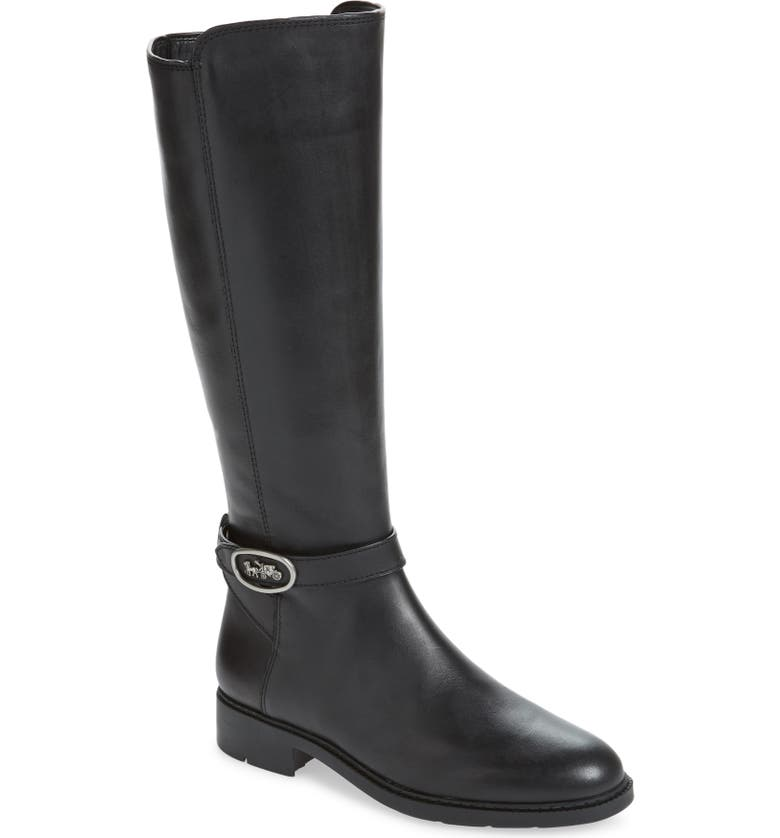 COACH Ruby Knee High Boot, Main, color, 015