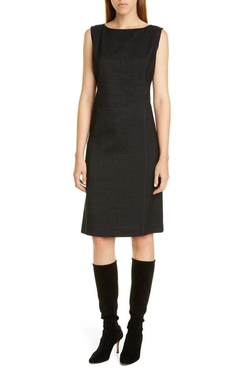 Lafayette 148 New York Brett Wool Sheath Dress