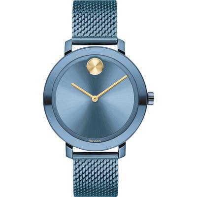 Movado Bold Evolution Mesh Strap Watch,
