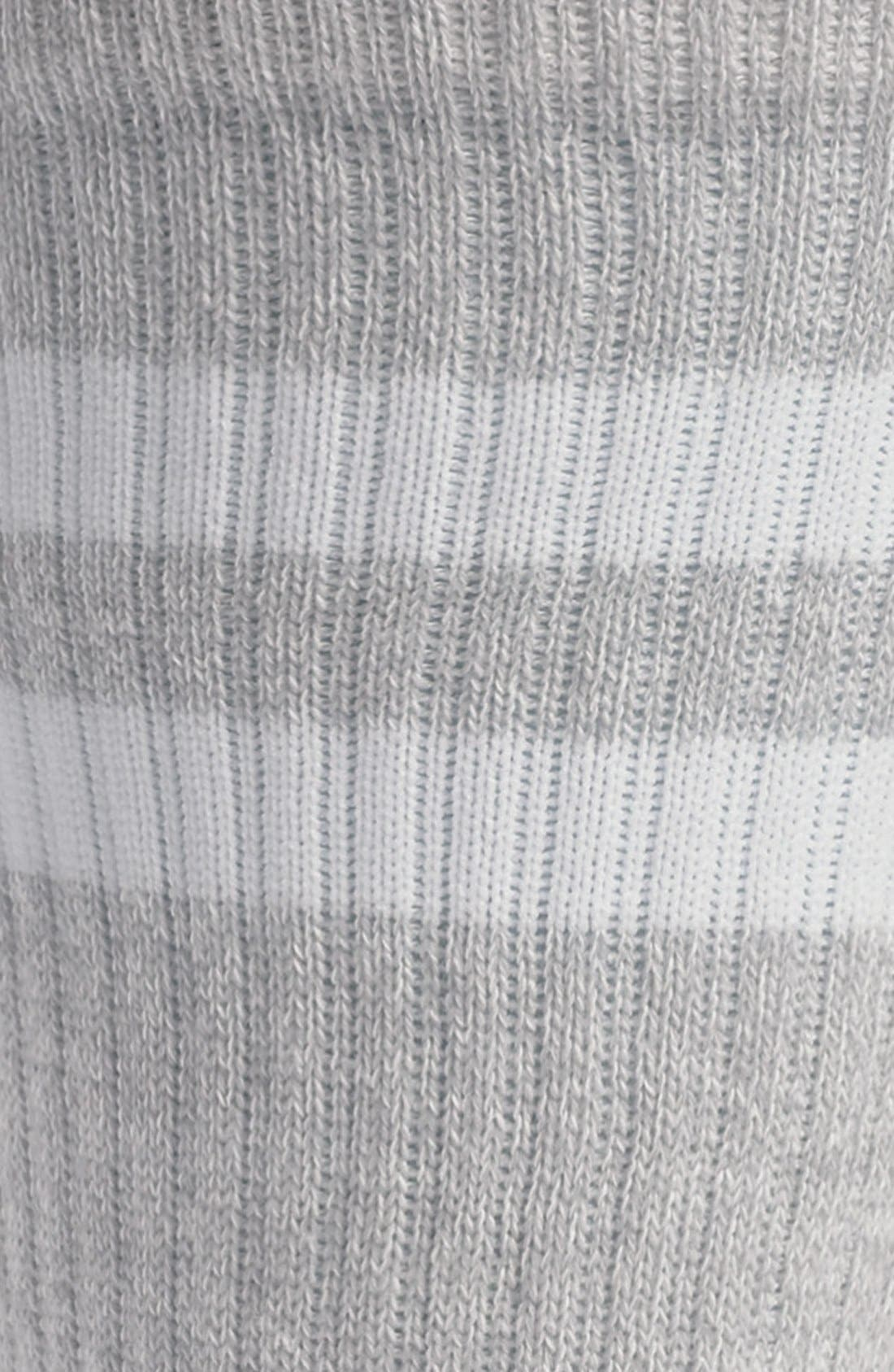 ,                             Stripe Crew Socks,                             Alternate thumbnail 2, color,                             020