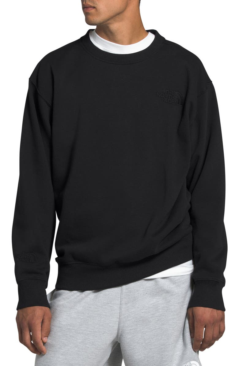 THE NORTH FACE Crew Sweatshirt, Main, color, TNF BLACK