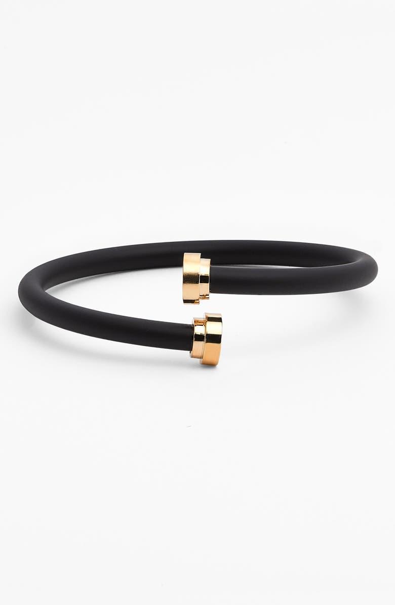 MARC BY MARC JACOBS Coil Bracelet, Main, color, 001