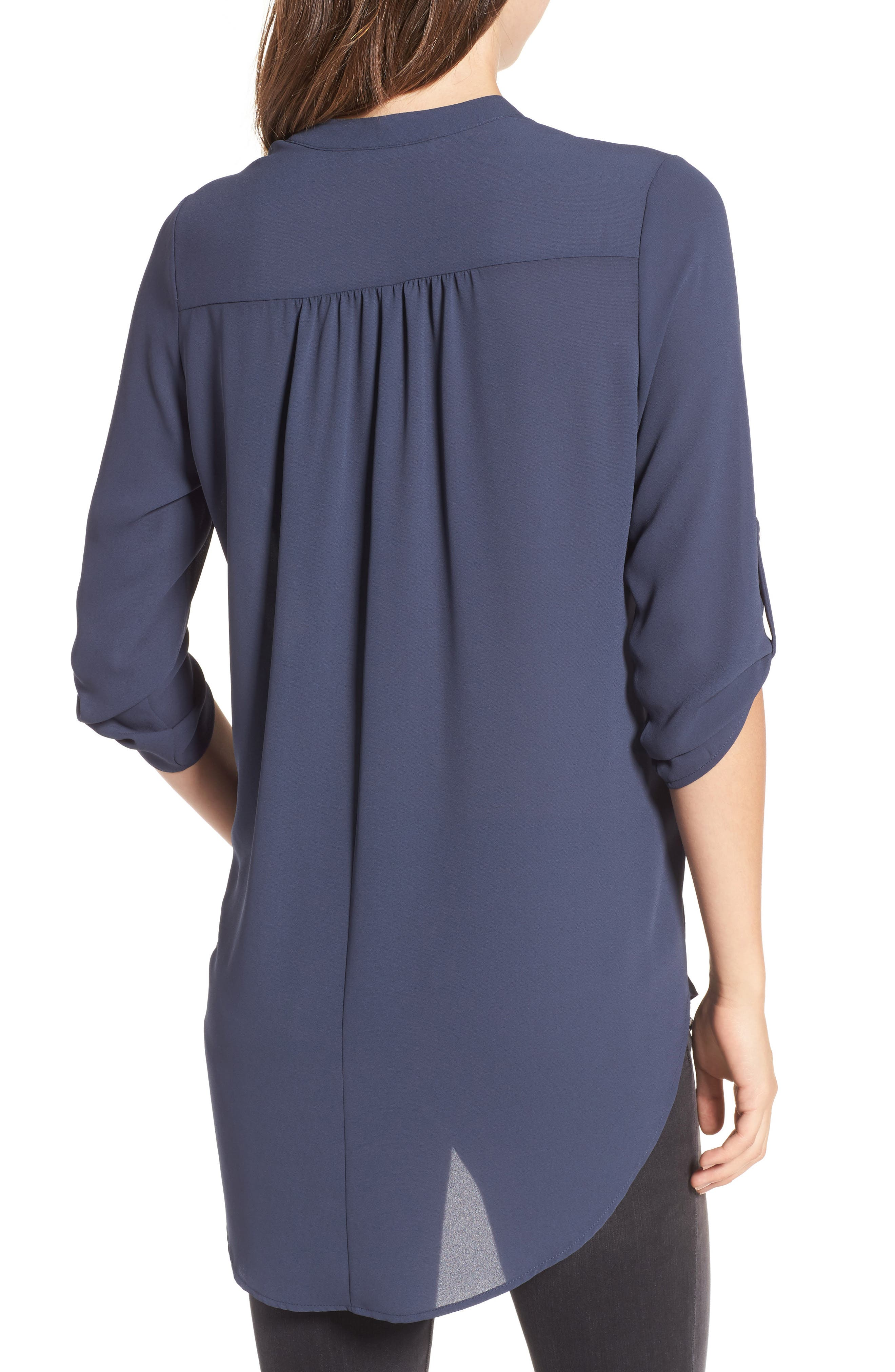 ,                             Perfect Roll Tab Sleeve Tunic,                             Alternate thumbnail 35, color,                             099