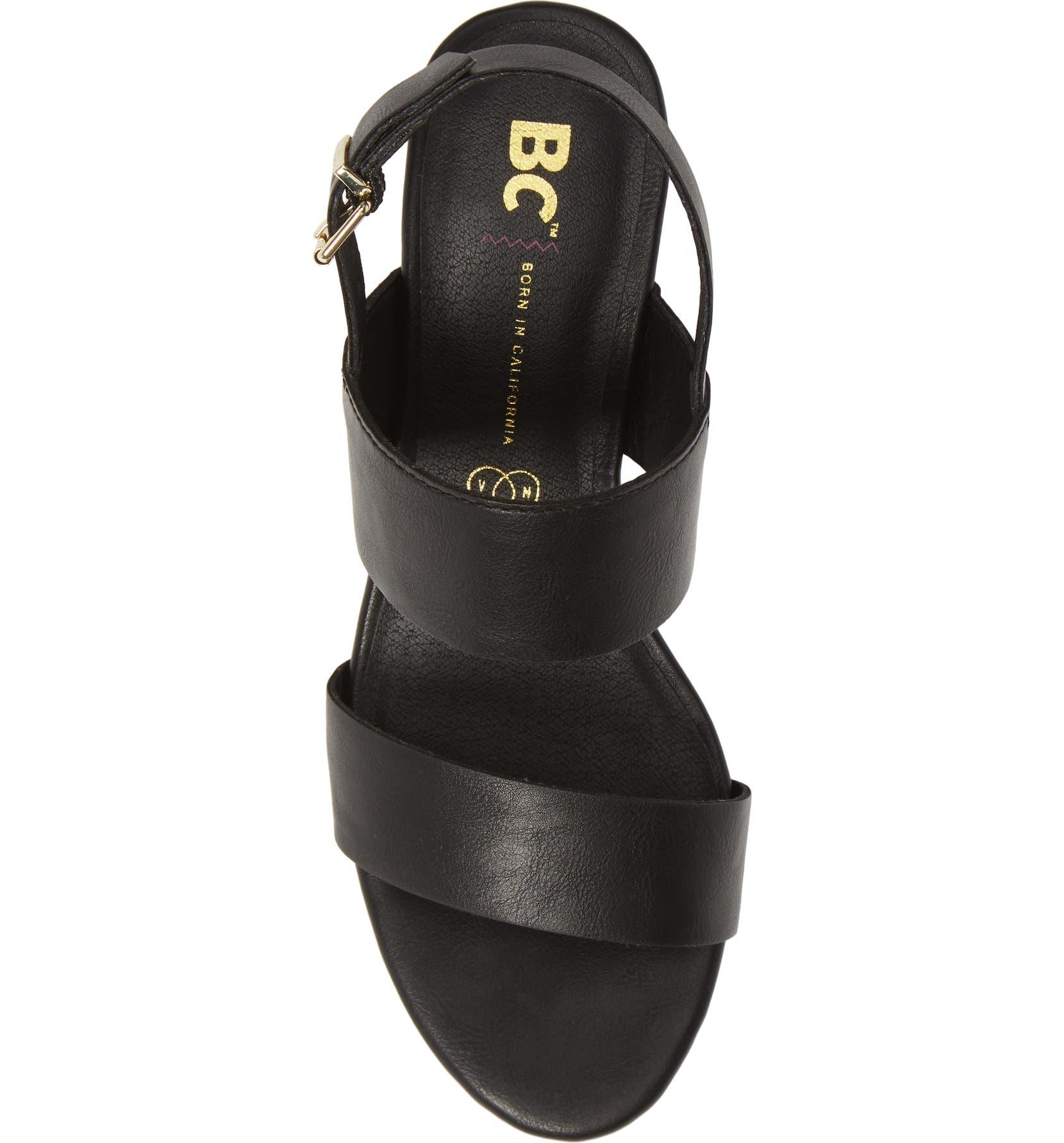 4b88daa24987 BC Footwear Gardenia Vegan Leather Sandal (Women) | Nordstrom