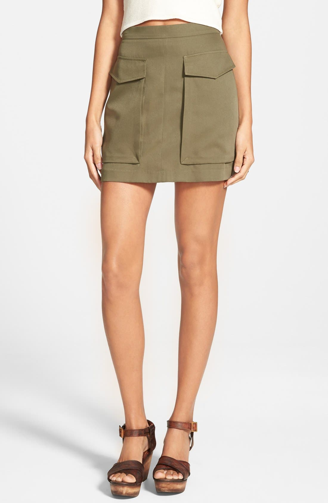 ,                             Cargo Skirt,                             Main thumbnail 1, color,                             300
