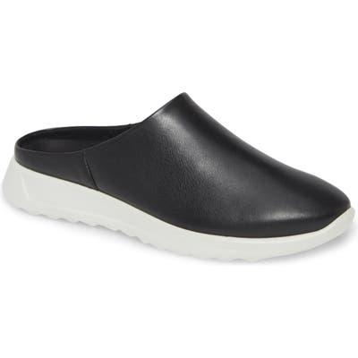 Ecco Flexure Runner Mule Sneaker, Black