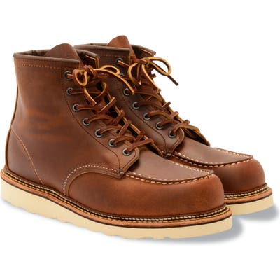 Red Wing Moc Toe Boot - Brown