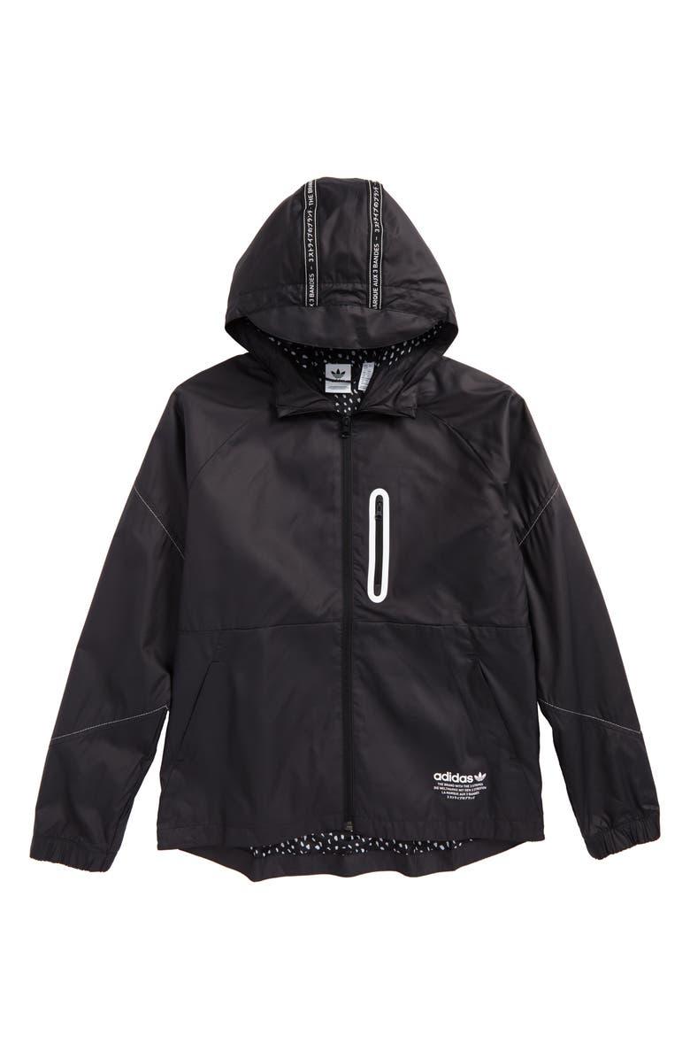 9e86617bcb342 adidas Junior NMD Hooded Windbreaker