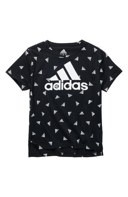 Image of adidas Printed Boxy Crew Neck Tee