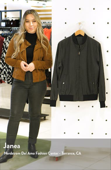 Pinstripe Bomber Jacket, sales video thumbnail