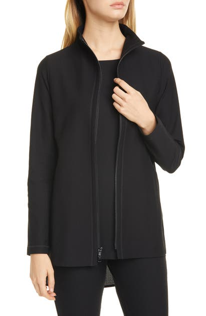 Eileen Fisher Jackets STAND COLLAR JACKET