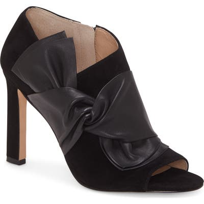 Louise Et Cie Idola Open Toe Bootie, Black