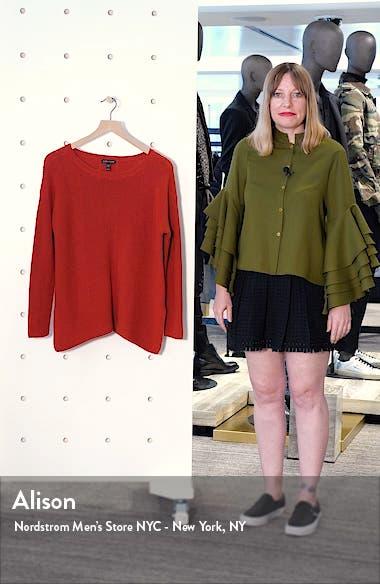 Bateau Neck Merino Wool Sweater, sales video thumbnail