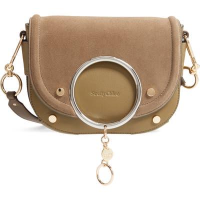 See By Chloe Mara Leather Crossbody Bag - Green