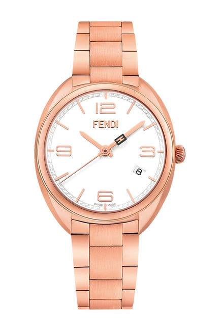 Image of FENDI Womens Momento Swiss Quartz Bracelet Watch, 34mm