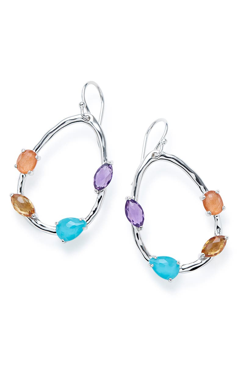 IPPOLITA Rock Candy Small Drop Earrings, Main, color, RAINBOW