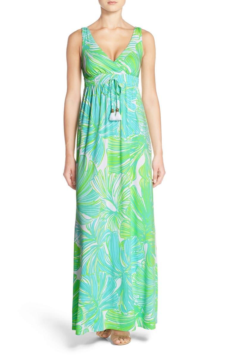 57ef052752 Lilly Pulitzer® 'Isla' Print Knit Maxi Dress | Nordstrom