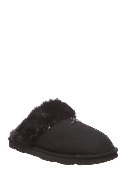 Image of BEARPAW Loki Vegan Faux Fur Trimmed Slipper