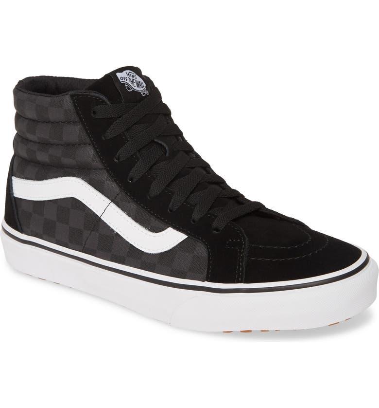 VANS Sk8 Hi Made For Makers Sneaker, Main, color, BLACK/ CHECKERBOARD