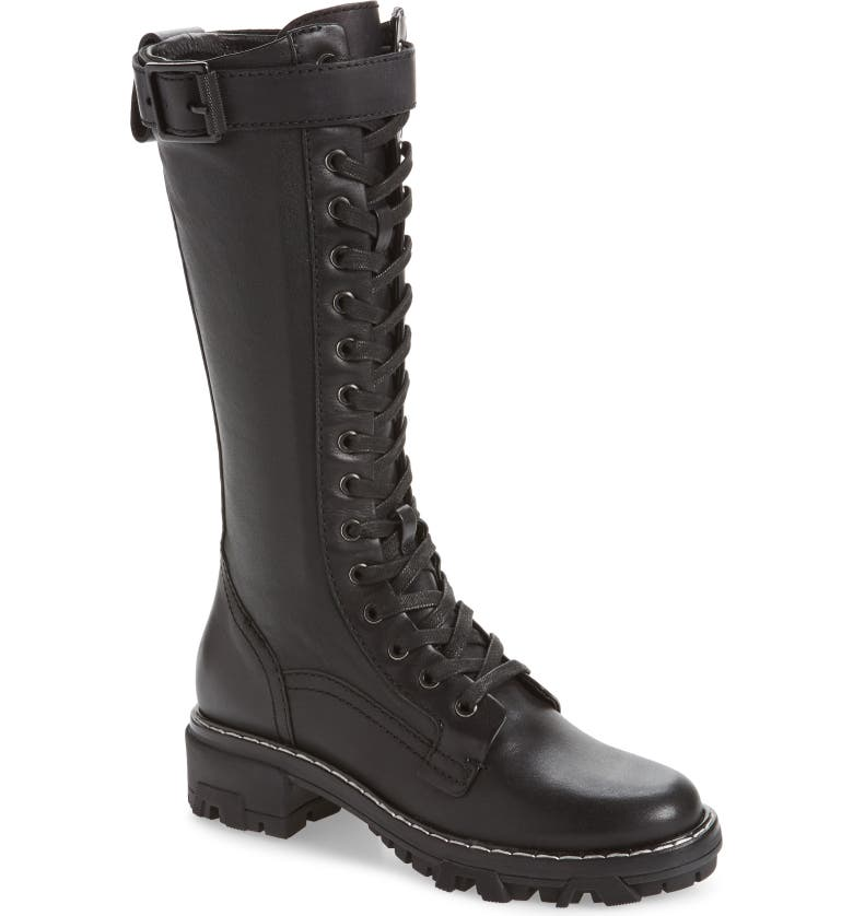 RAG & BONE Shiloh Tall Boot, Main, color, BLACK