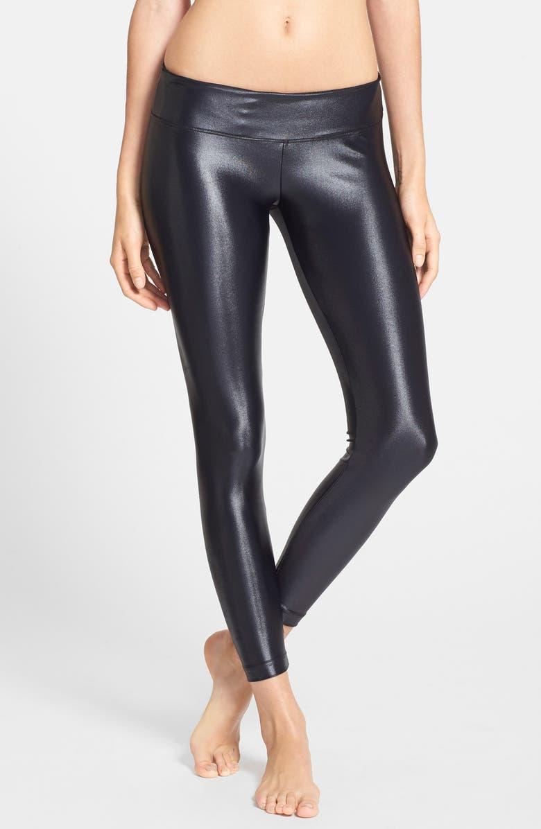 36427c6e384cf2 'Lustrous' Coated Leggings, Main, color, ...