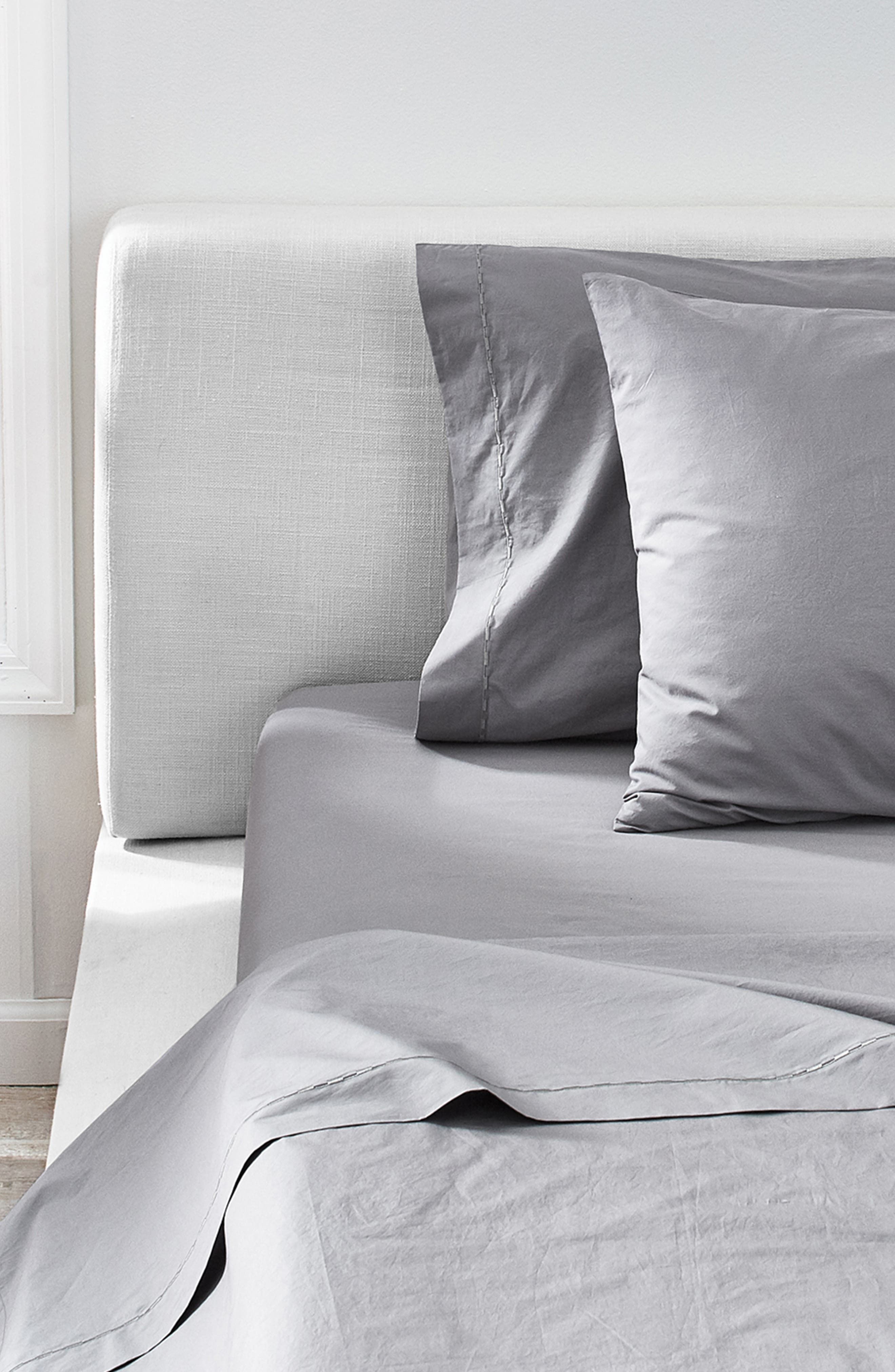 ,                             Cotton Percale Sheet Set,                             Alternate thumbnail 6, color,                             420