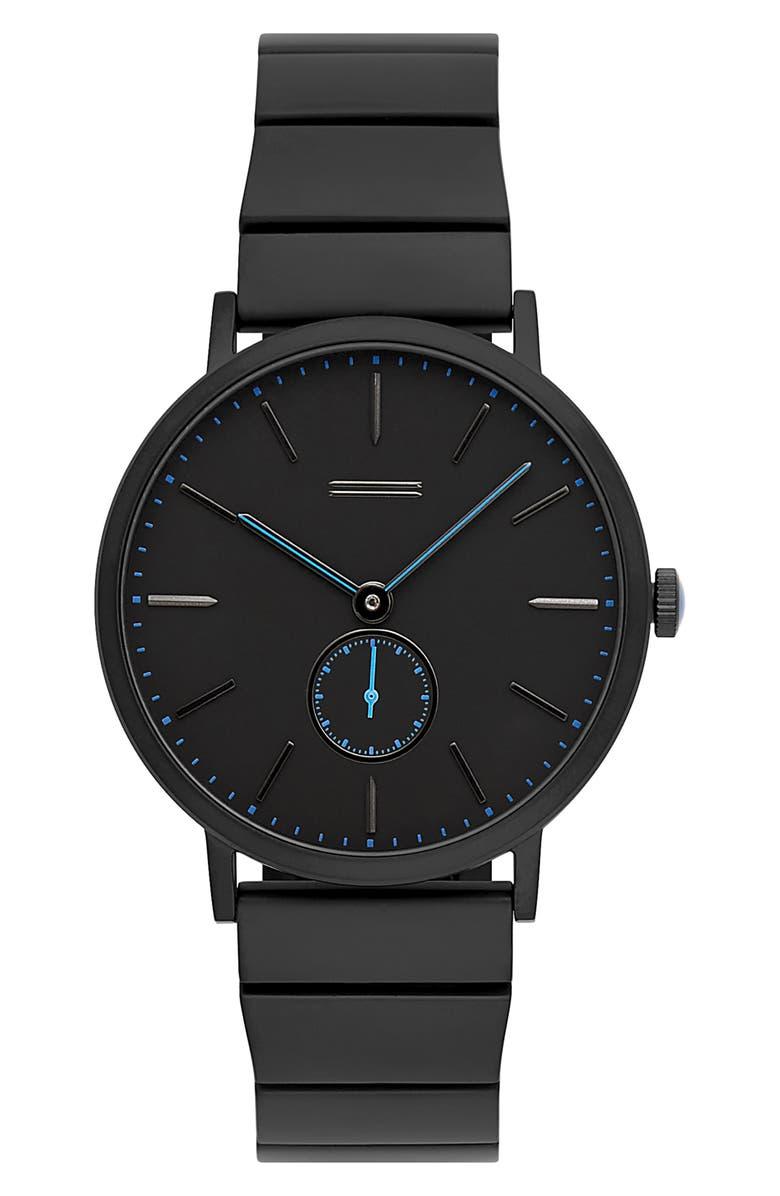 URI MINKOFF Norrebro Bracelet Watch, 40mm, Main, color, 001