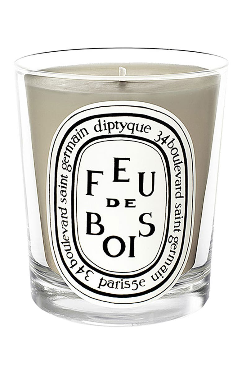DIPTYQUE Feu de Bois/Wood Fire Scented Candle, Main, color, NO COLOR