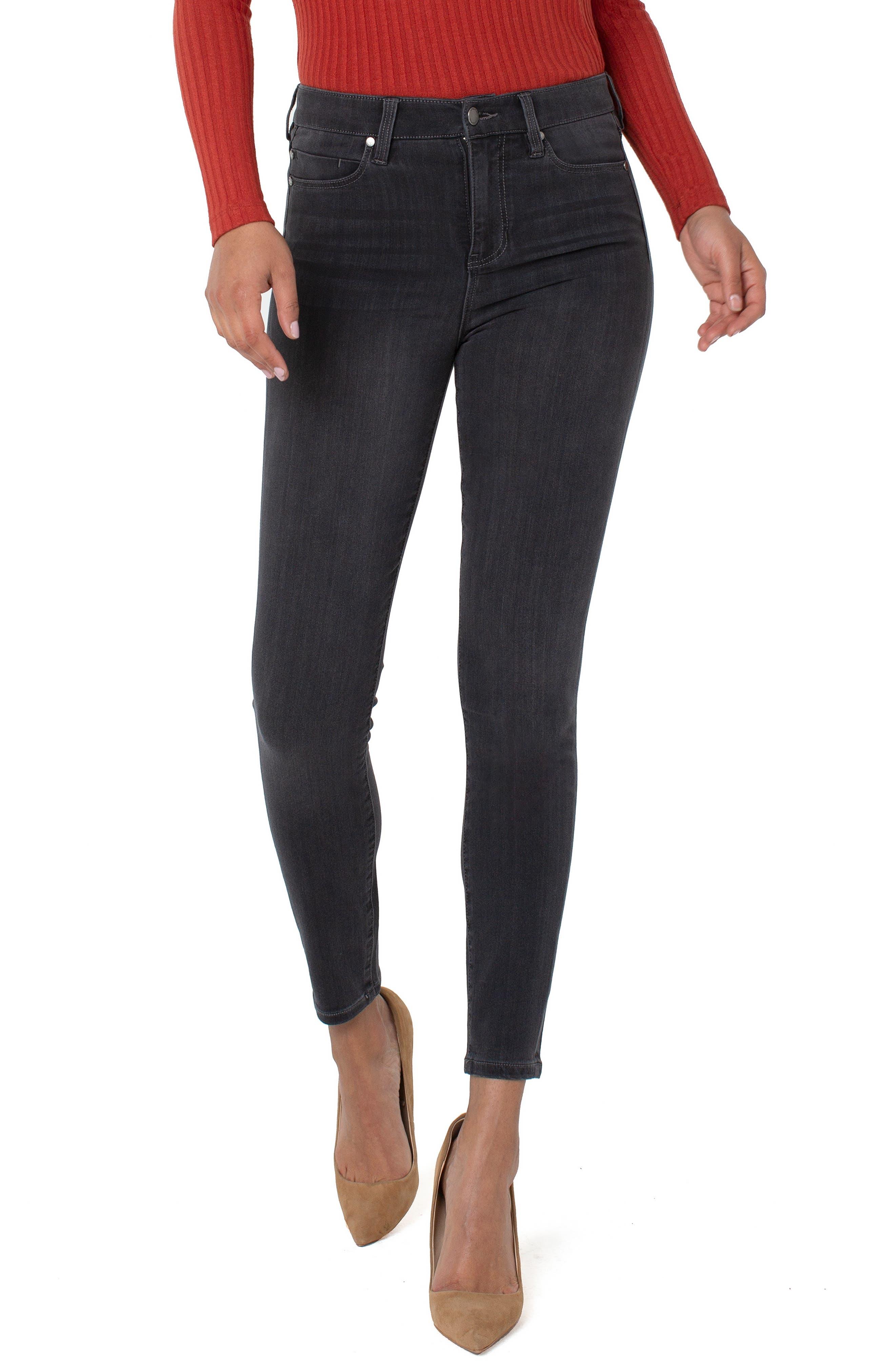 Abby High Waist Ankle Jeans