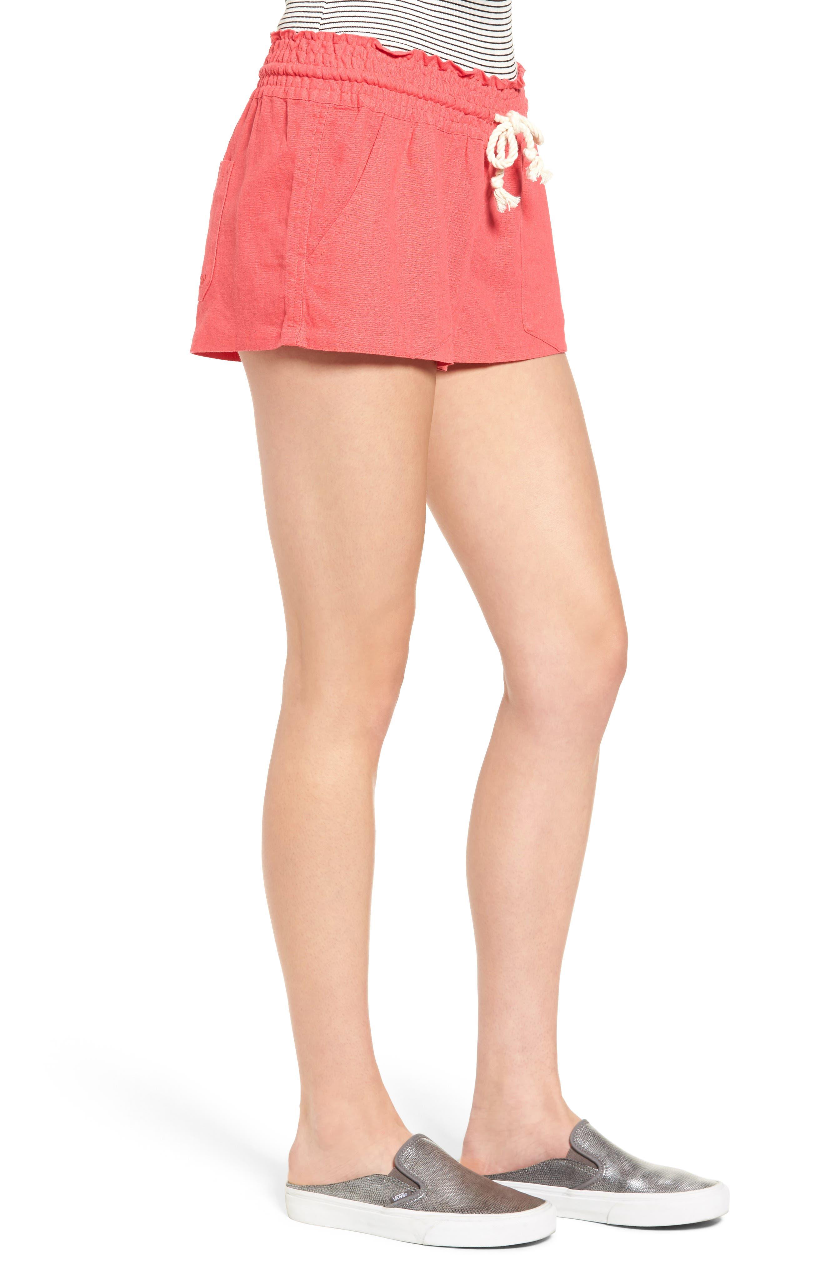 ,                             'Oceanside' Linen Blend Shorts,                             Alternate thumbnail 38, color,                             600