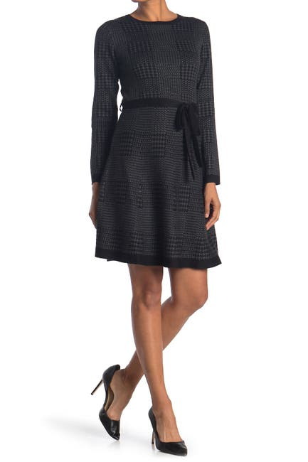 Image of Max Studio Fit & Flare Sweater Dress