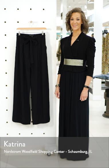 Belted Wide Leg Pants, sales video thumbnail
