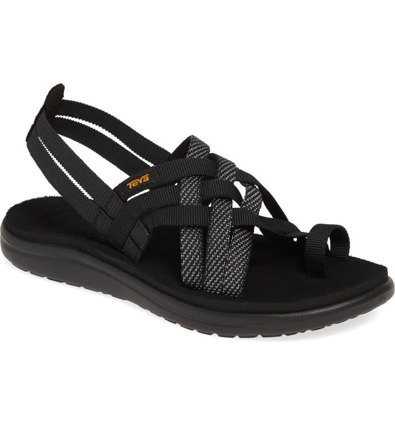 TEVA Voya Water Friendly Sandal, Main, color, 002