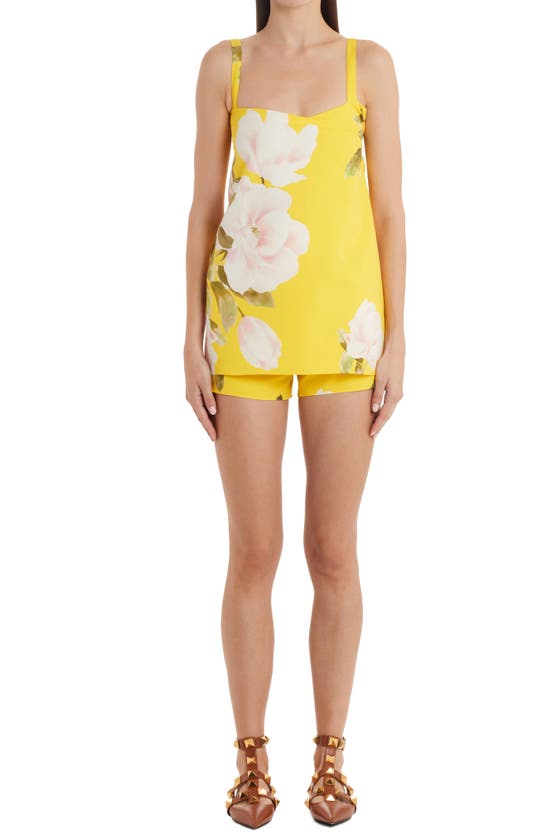 Valentino Cottons PEONIA FLORAL ROMPER