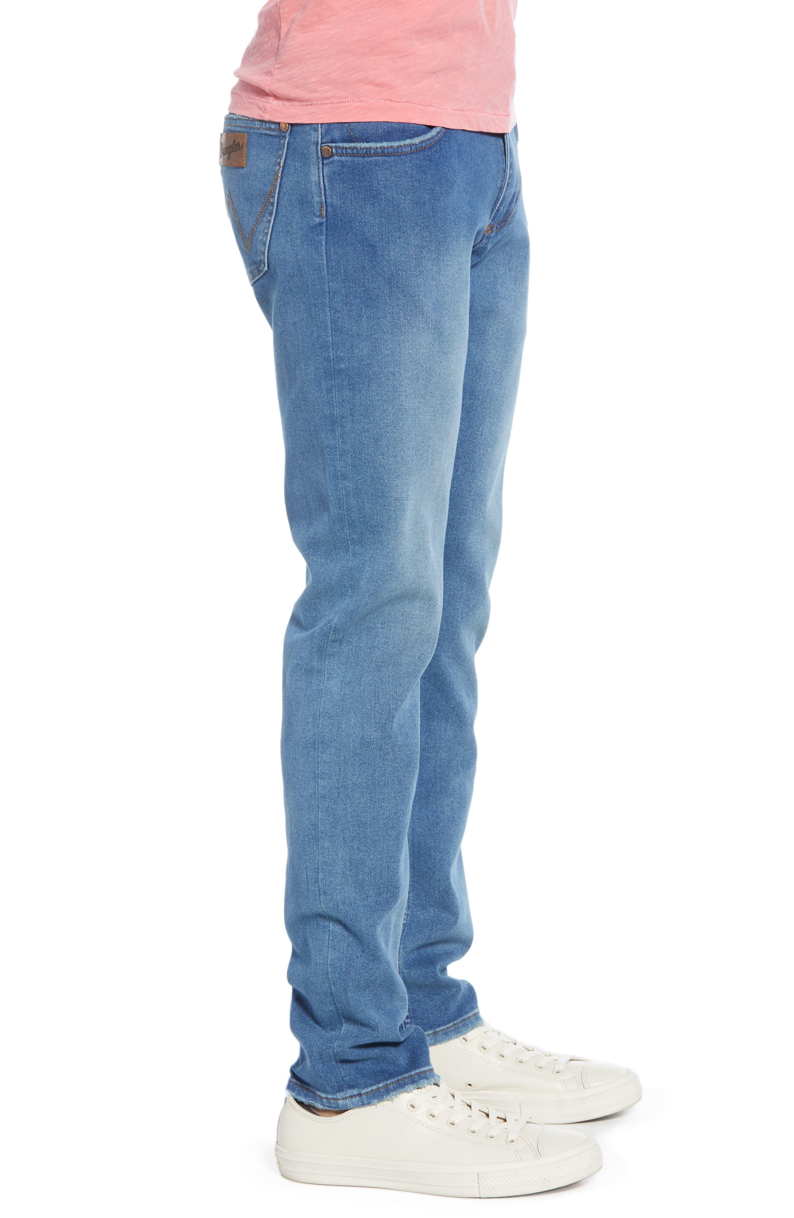 ,                             Larston Slim Fit Jeans,                             Alternate thumbnail 4, color,                             BERMUDA BLUE