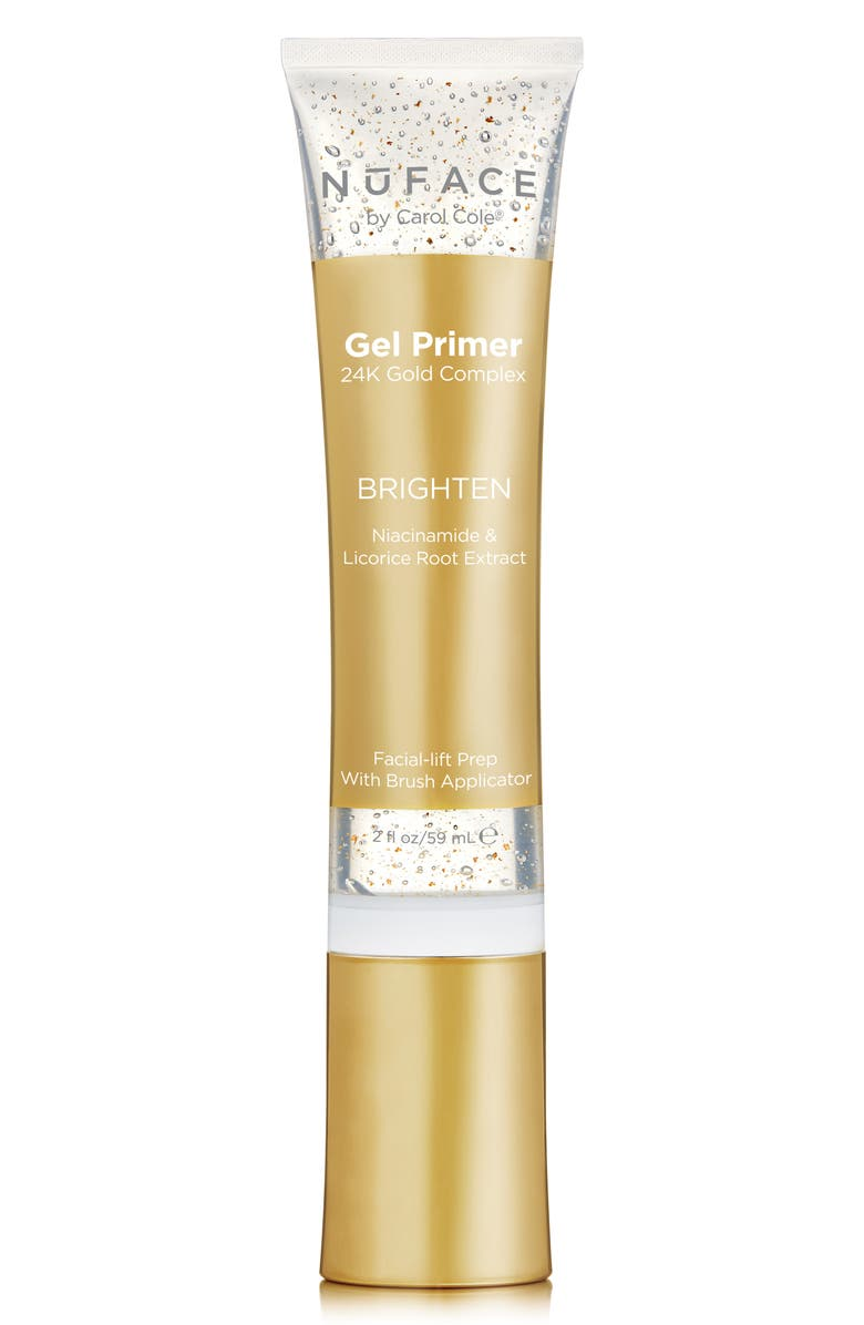 NUFACE<SUP>®</SUP> Gel Primer 24K Gold Complex Brighten, Main, color, NO COLOR