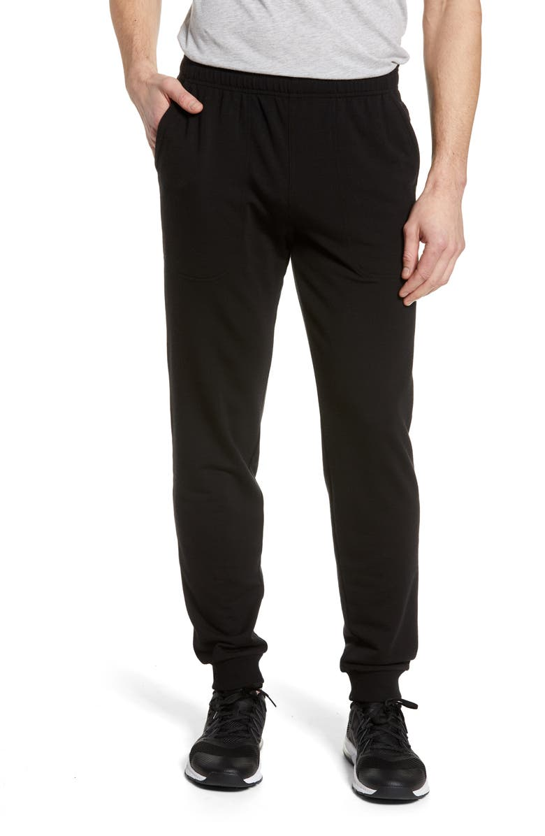 ICEBREAKER Shifter Merino Wool Blend Jogger Pants, Main, color, BLACK
