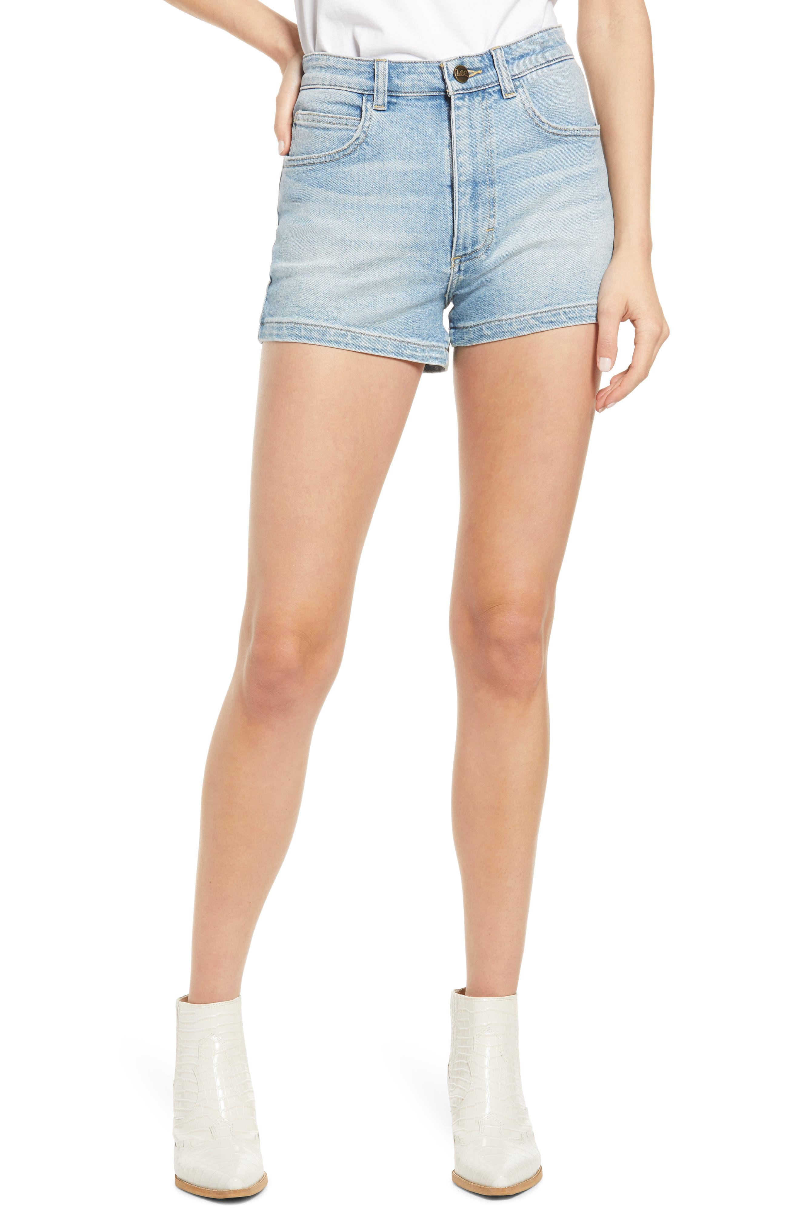 High Waist Pin Up Shorts