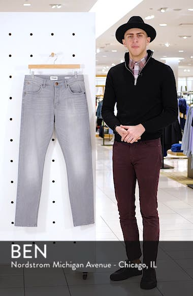 Slider Slim Straight Leg Jeans, sales video thumbnail