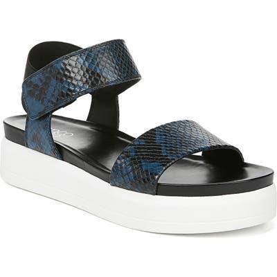 Franco Sarto Kana Platform Sandal, Blue